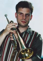 Bild: Oliver mit Trompete